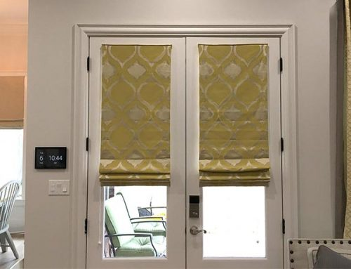 Lakeview Roman Shades