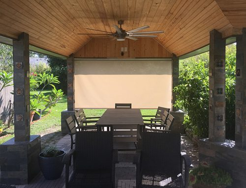 Patio Solar Shades