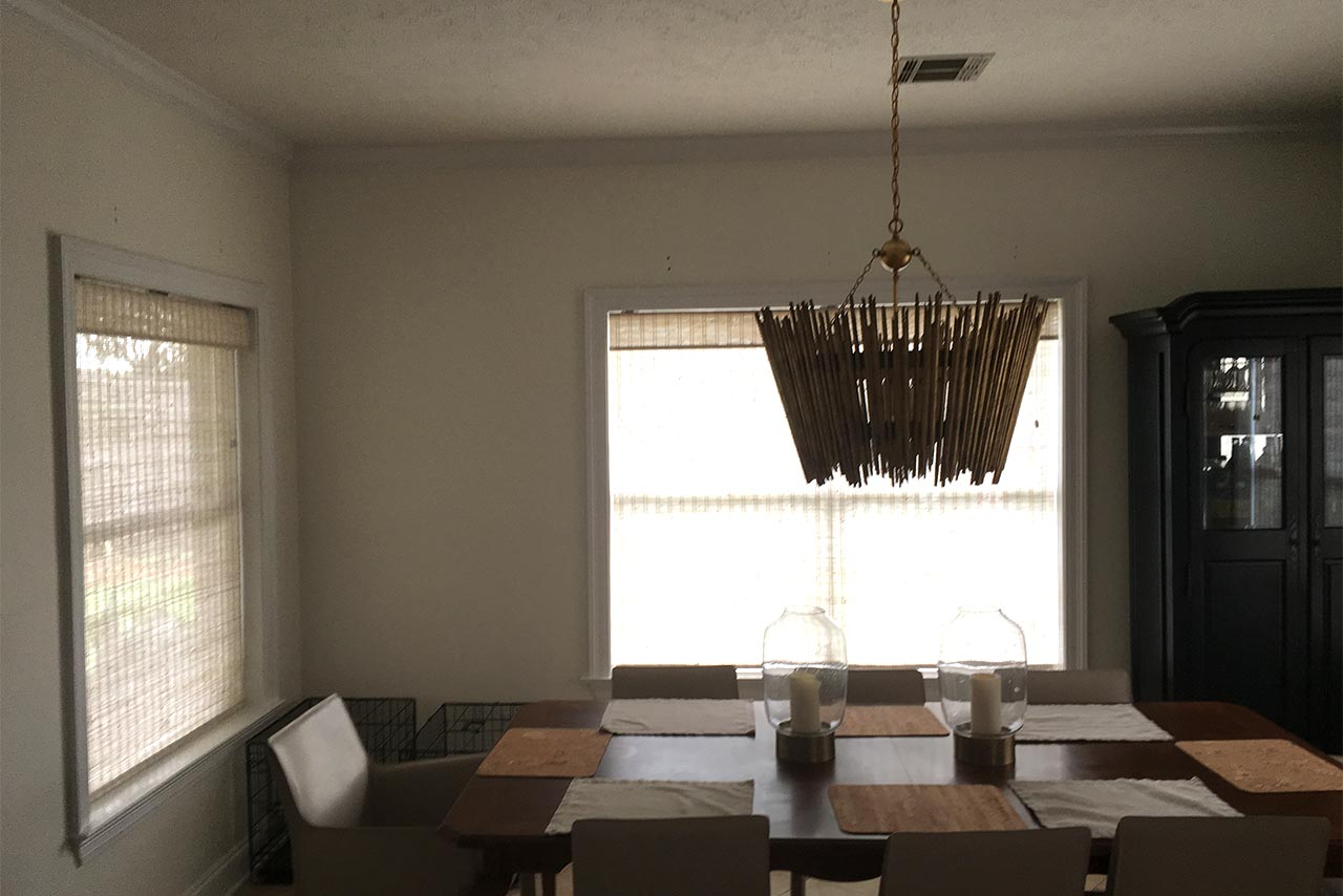 Graber woven woods shades